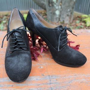 ✨RARE✨ Nine West Leather & Suede Candyce Oxfords